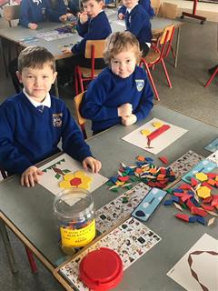 Maths fun in junior  infants