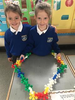 Junior Infants 1st week in Ballybryan NS